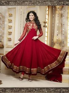 Anarkali Frock Suit Pictures