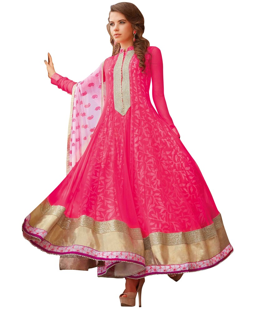 Cotton Anarkali Dress