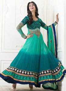 Long Frock Anarkali Suit
