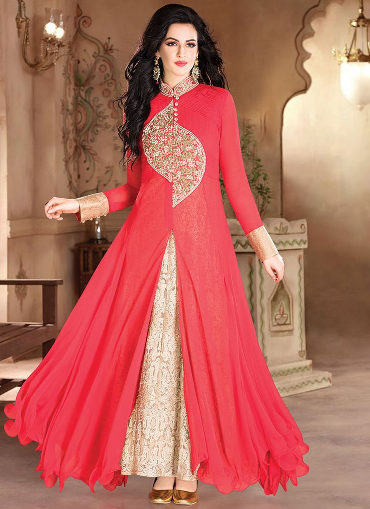 5b775e854106b3 Anarkali Gowns Design and Pictures