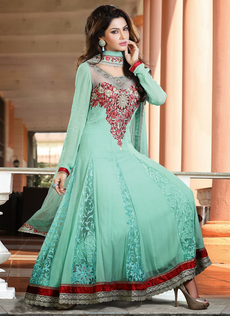 Long Anarkali Suits Designs and Pictures | Anarkali Dress